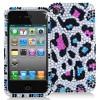 2012新产品豹纹全钻手机保护壳
