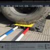 安防现场使用专用线槽板-道路过车专用线槽板