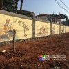 墙体彩绘少林墙画